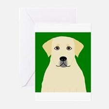Yellow Lab Greeting Cards (Pk of 20)