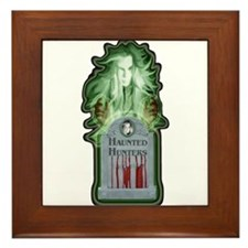 Haunted Hunters Framed Tile