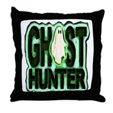 Ghost Hunter Throw Pillow