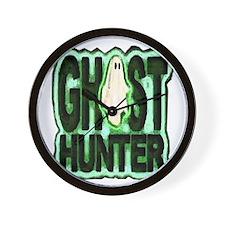 Ghost Hunter Wall Clock