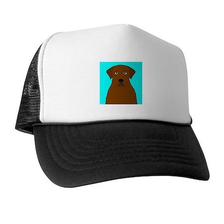 Chocolate Lab Trucker Hat