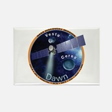 Dawn Mission Patch Rectangle Magnet