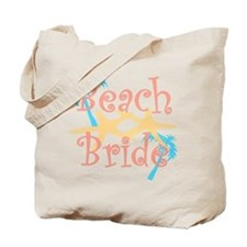 Beach Bride Tote Bag