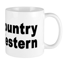 I Love Country Western Coffee Mug