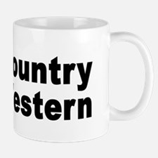 I Love Country Western Mug