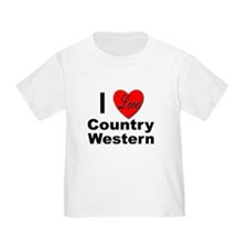 I Love Country Western T