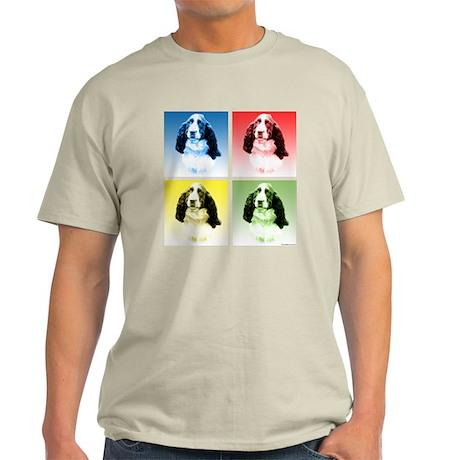 English Springer Pop Art Light T-Shirt