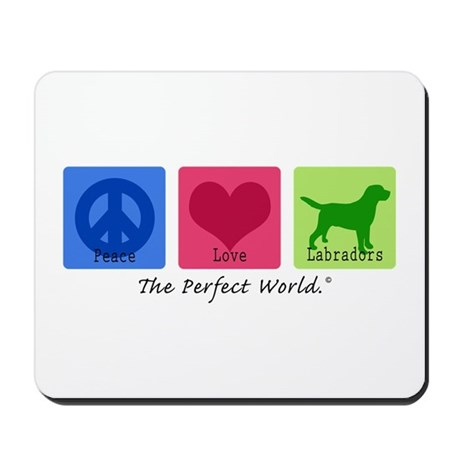Peace Love Labs Mousepad