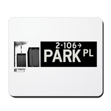 Park Place in NY Mousepad