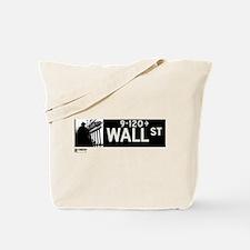 Wall Street in NY Tote Bag