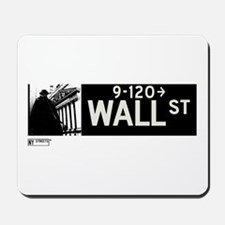 Wall Street in NY Mousepad