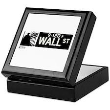 Wall Street in NY Keepsake Box