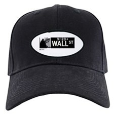 Wall Street in NY Baseball Hat