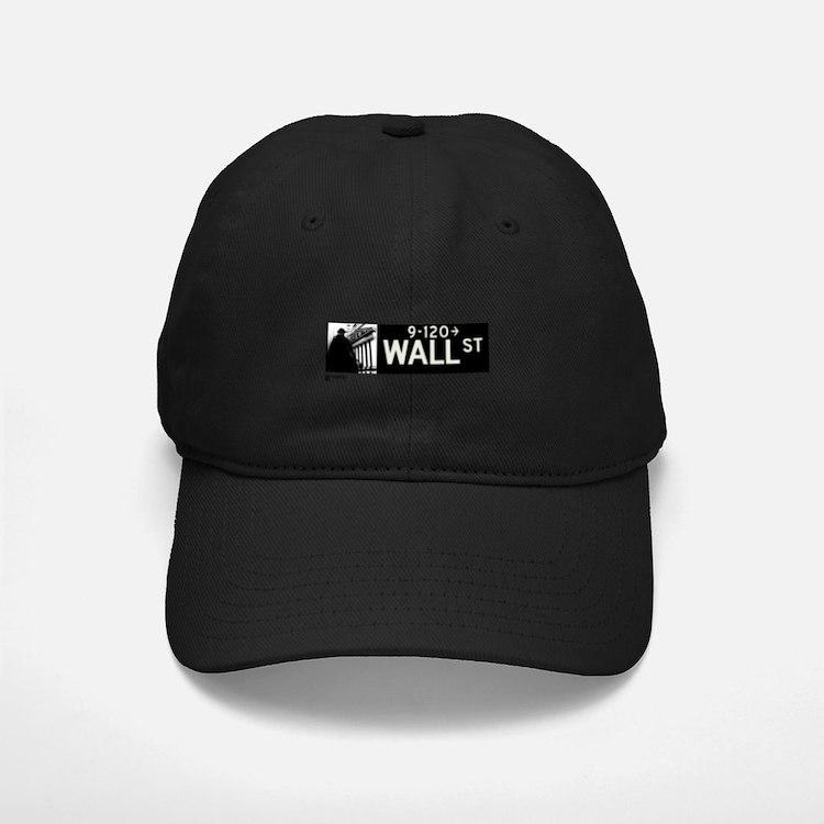 Wall Street in NY Baseball Hat