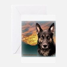 Animal's Eyes Greeting Card