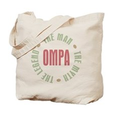 Ompa Dutch GrandDad Man Myth Tote Bag