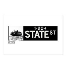 State Street in NY Postcards (Package of 8)