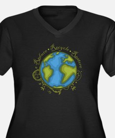 Earth Vine - Recycle - Reduce - Restore Women's Pl