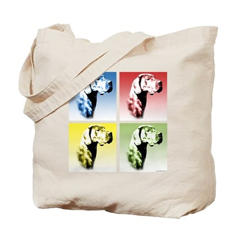 Dane(natural) Pop Art Tote Bag