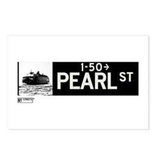 Pearl Street in NY Postcards (Package of 8)