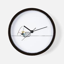 WTD: At Laptop Wall Clock