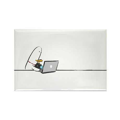 WTD: At Laptop Rectangle Magnet (10 pack)