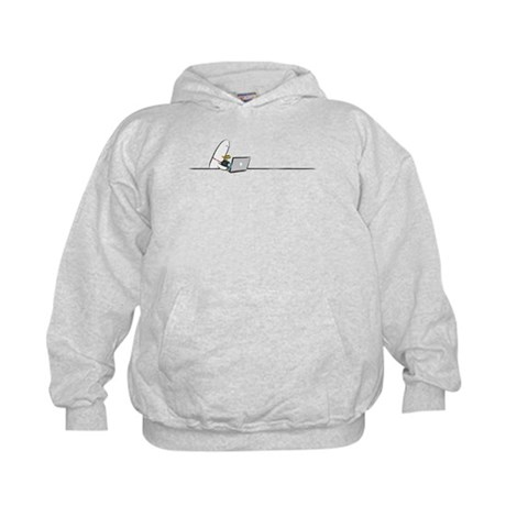 WTD: At Laptop Kids Hoodie