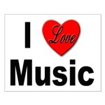 I Love Music Small Poster