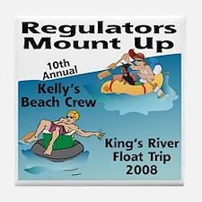 River Float Tile Coaster