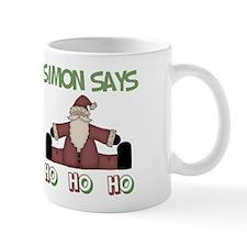 Simon Says Ho Ho Ho Mug