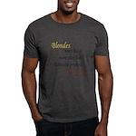 Edward prefers Brunettes Dark T-Shirt