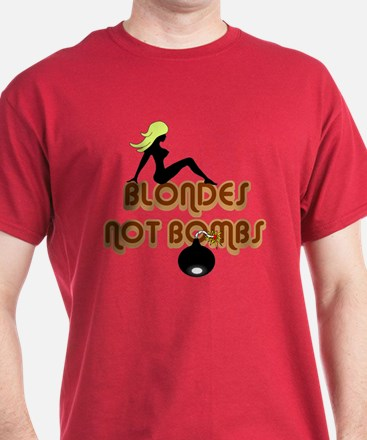 Blondes Not Bombs T-Shirt