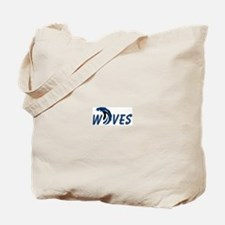 PEI Tidal Waves Tote Bag