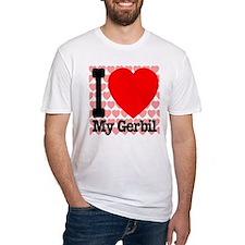 I Love My Gerbil Shirt