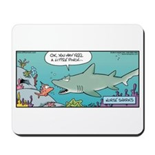Shark Nurse Pinch Mousepad