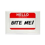 BITE ME Rectangle Magnet (100 pack)