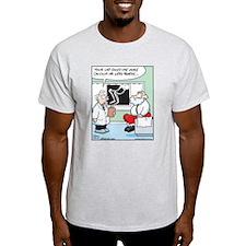 Santa's Lap Bones T-Shirt