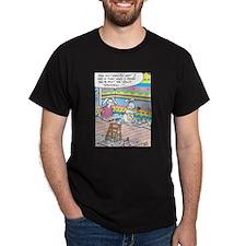 Easter Bunny Eggshell Painting T-Shirt
