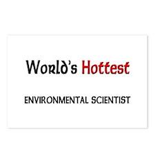 World's Hottest Environmental Scientist Postcards