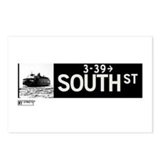 South Street in NY Postcards (Package of 8)