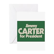 Carter for President Greeting Card