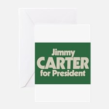 Carter for President Greeting Card