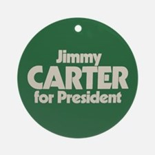 Carter for President Ornament (Round)