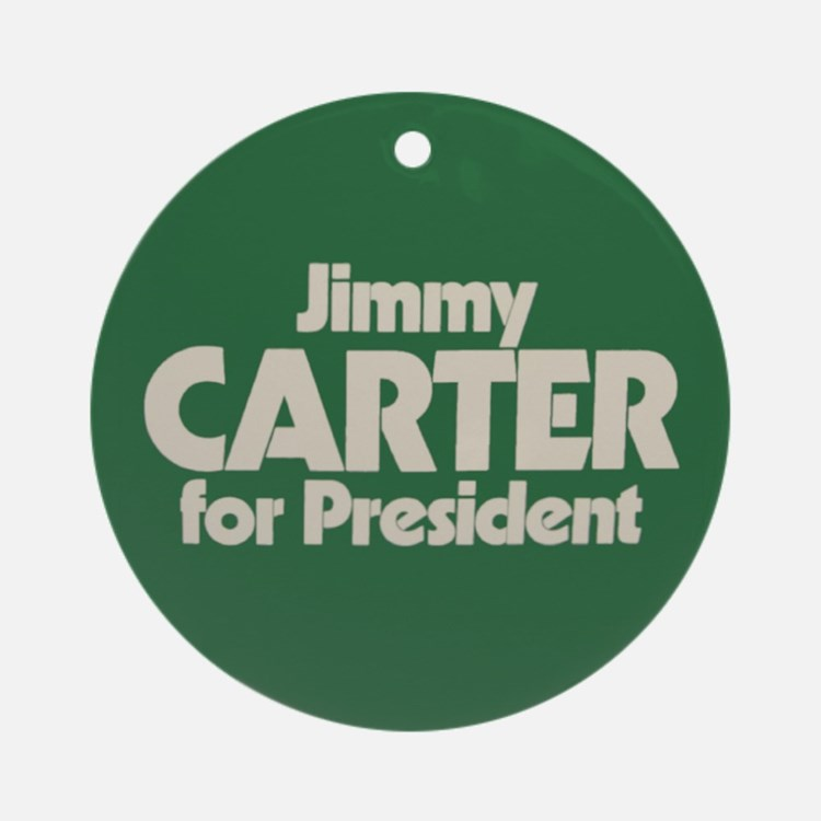 Carter for President Ornament (Round)