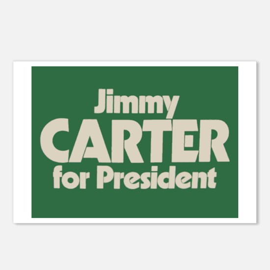 Carter for President Postcards (Package of 8)