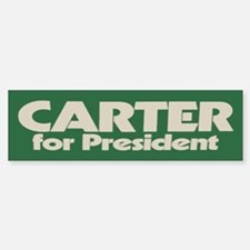 Carter for President Bumper Bumper Bumper Sticker