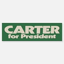 Carter for President Bumper Car Car Sticker