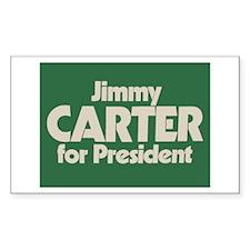 Carter for President Rectangle Sticker 10 pk)