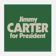 Carter for President Tile Coaster