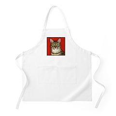 Tabby Cat BBQ Apron